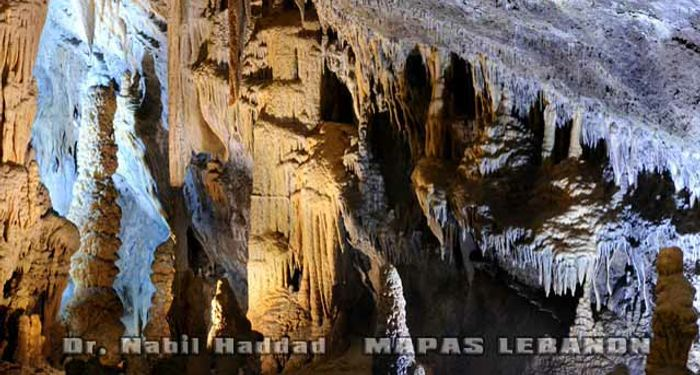 title: Amazing Cave Formations in the Upper Section of the Grotto