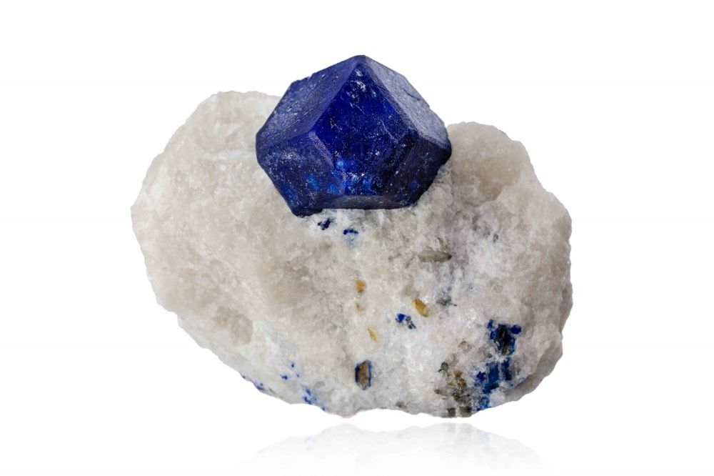 title: BLUE LAPIS LAZULI ROCK at MIM