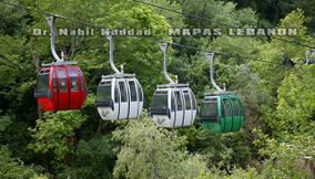 Cable Car Transport of Jeita