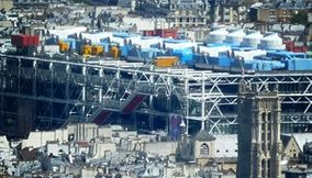 title: Centre Pompidou Seen from Tour Montparnasse 56
