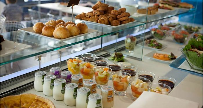 title: Delicious Treats at 360 Cafe in Tour Montparnasse 56