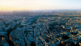 Extraordinary Panoramic View of Paris from Tour Montparnasse