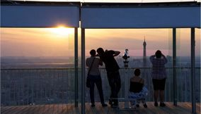 title: Family Sightseeing from Tour Montparnasse 56