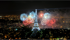 title: Fourth of July Fireworks from Tour Montparnasse