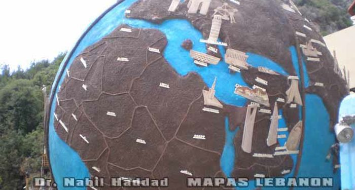 title: Landmarks of the Globe in Parts of Europe Display