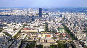 Lanscape and Scenery of Paris