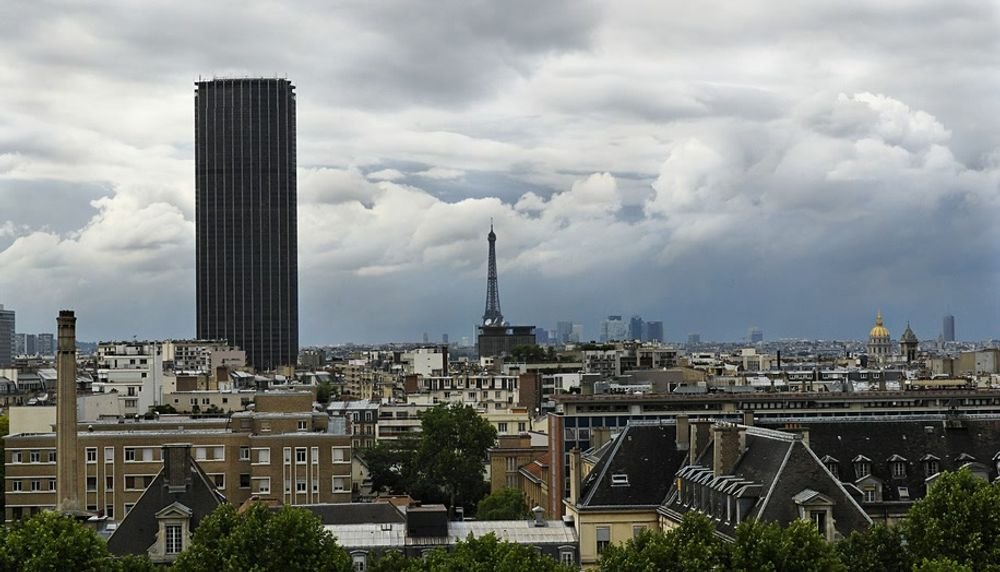 Paris' Famous Tour Montparnasse Landmark