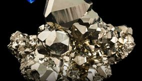 title: Pyrite Mineral  mim 346 from Peru