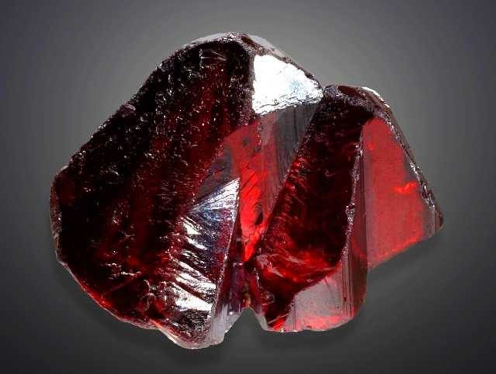 Red Proustite Mineral from Chile, South America