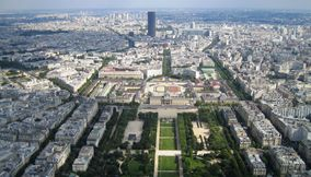 The Black Tall Tour Montparnasse in Paris