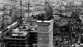 The Construction of the Montparnasse Tower in Paris