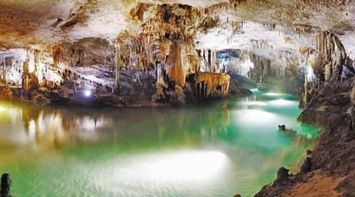 The Picturesque Magical Lower Cave of Jeita