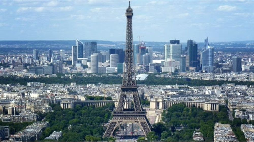 The Renowned Skyscraping Tour Eiffel Seen from Tour Montparnasse 56