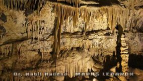 The Side Walls of the Upper Caves of Jeita