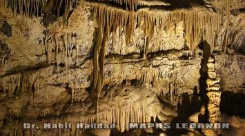 title: The Side Walls of the Upper Caves of Jeita