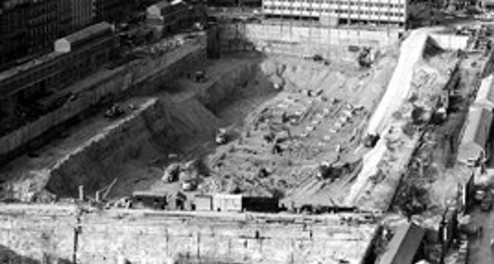 title: The Site of Montparnasse Tower before Construction