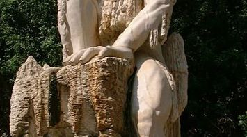 title: Unique Statue outside Jeita Grotto