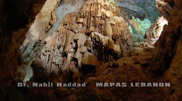 title: Upper Cave Formations on the Interior Walls of the Site