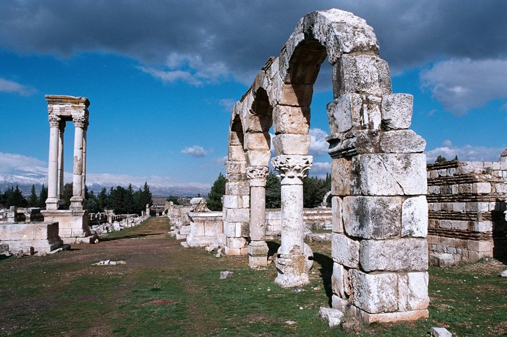 title: Beautiful Landmark in the Bekaa Valley of Lebanon