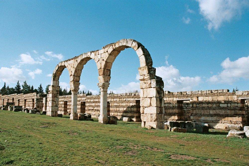 title: Cool Architecture of the Bekaa Valley Ruins