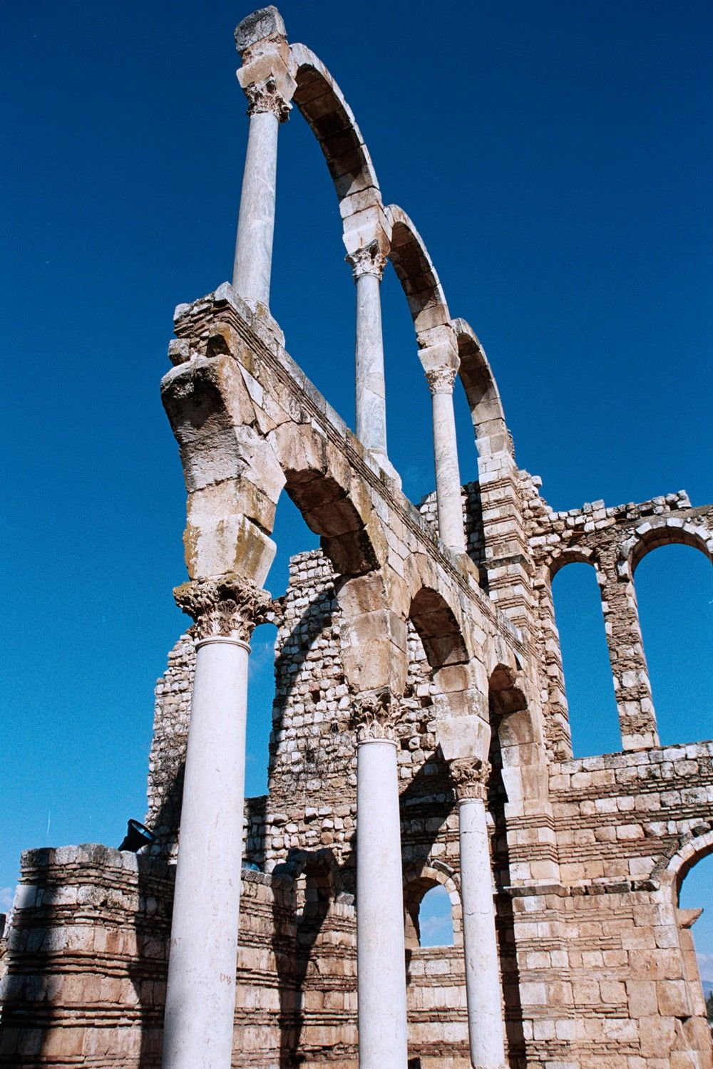 title: Cool Shot of the Umayyad Anjar Ruins
