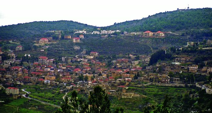 title: Natural Scenery of Kfarhim Village in Mount Lebanon