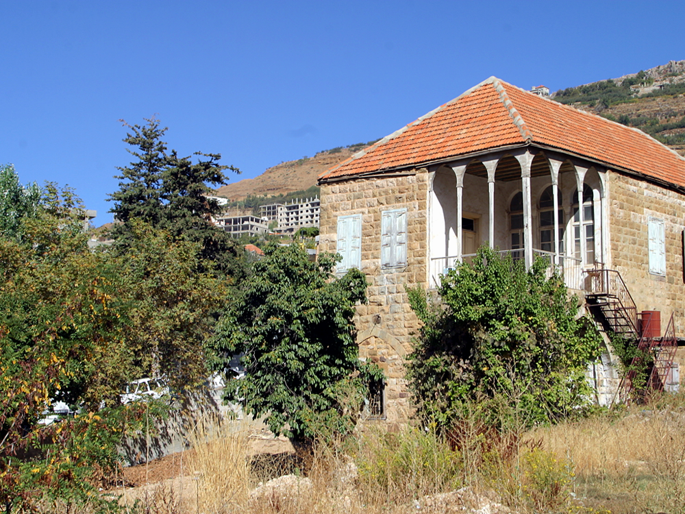 title: Typical Lebanese Village House with Garden