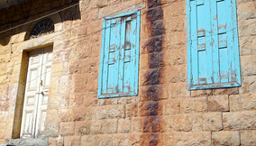 Typical Old Architecture in Bsharri Village