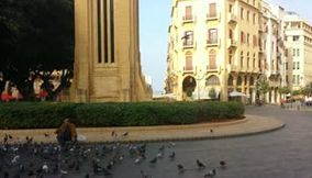 title: Video in Downtown Beirut in Lebanon