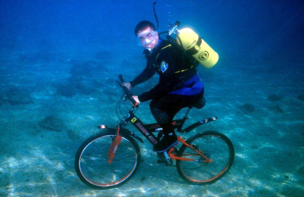 Diving and Bike Riding in Beirut