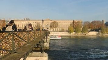 title: A Cool Video of the 19th Century Pedestrian Bridge over the Seine