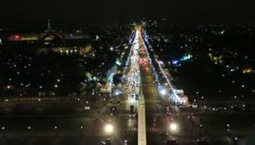 title: Avenue des Champs Elysees Seen from the Ferris Wheel in Place de la Concorde