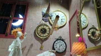 title: Fun Swatch Decorations with Music at the Lafayette Galleries of Paris Video