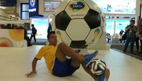 Brazil Football Player ITB Berlin 2014