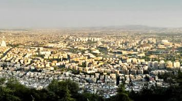 A Panoramic View of Damascus