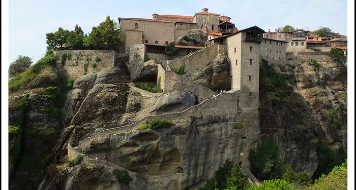 title: METEORA GREECE GRAND METEORA MONASTERY