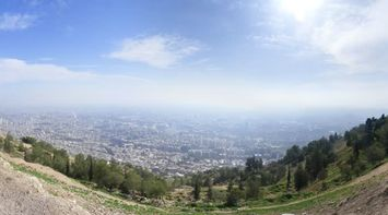 Panorama of Damascus