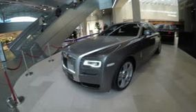 Rolls Royce at the BMW museum