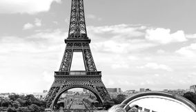 title: Best of Paris have a nice croissant watching the tour Eiffel