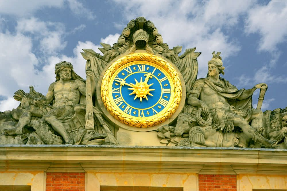 title: Clock of the Chateau de Versailles