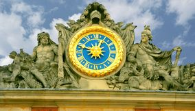Clock of the Chateau de Versailles