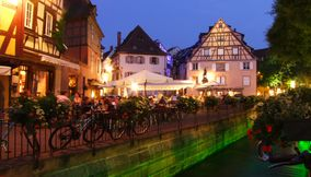 Colmar sunset