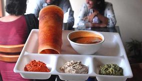 title: Carnatic Cafe south indian food new friends colony