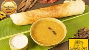 Carnatic Cafe south indian food new friends colony
