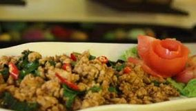 title: Ego lounge thai food new friends colony