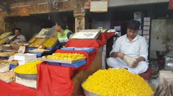 Indian Street food at New Delhi