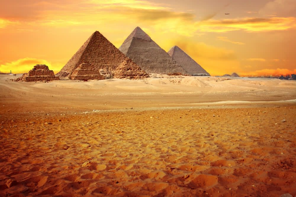 title: The Great Pyramids of Giza