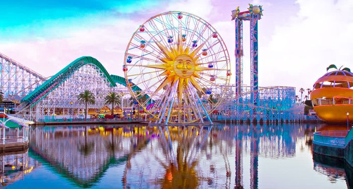 title: Disney Land Attractions