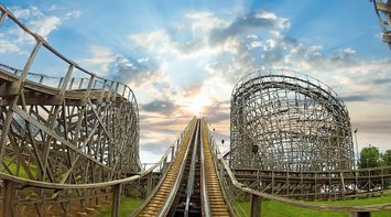 title: Hersheypark Wooden Rollercoaster