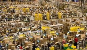 title: A tour of the Amazon distribution center